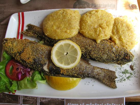 trout-with-polenta